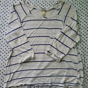 Charming Charlie Striped Top